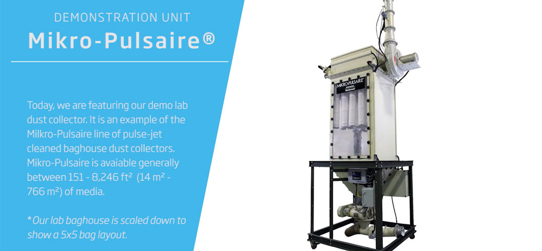 Mikro-Pulsaire Baghouse Dust Collector