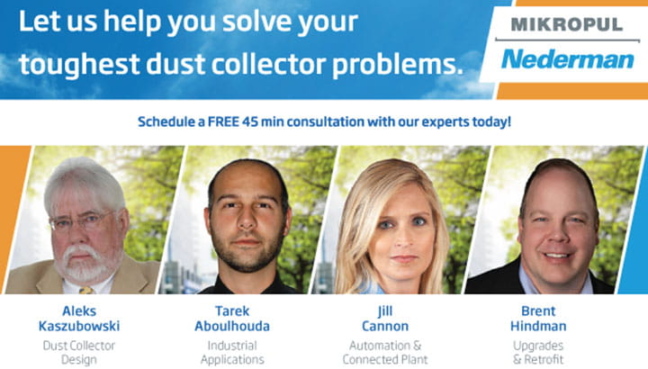 Solve Dust Collector Problems - Meet Our Experts
