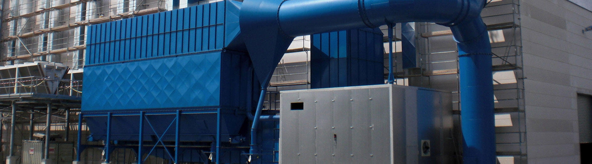 Nederman Mikropul dust collection systems