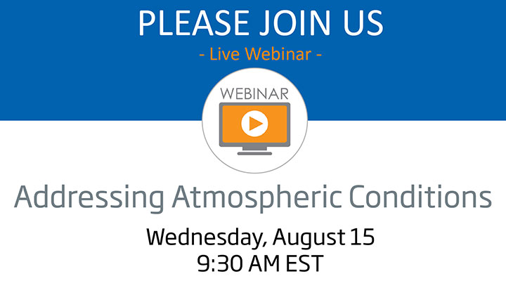 Addressing Atmospheric Conditions Webinar