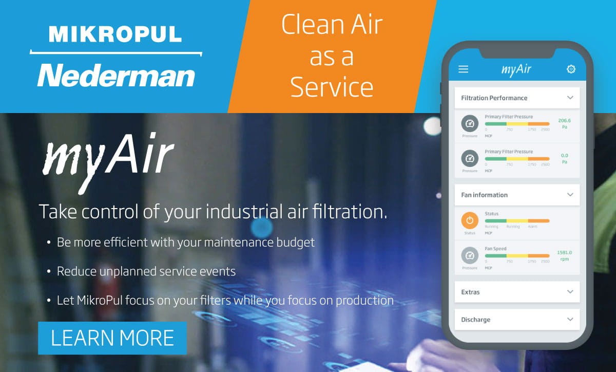 MikroPul myAir - Clean Air as a Service