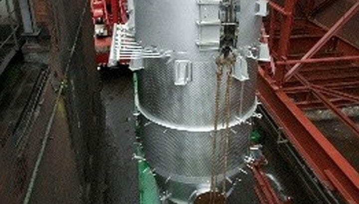Dust Collector for pigments