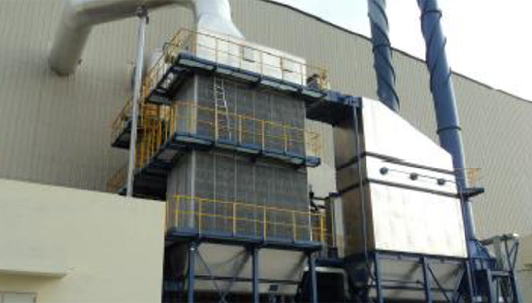 FS baghouse dust collection system